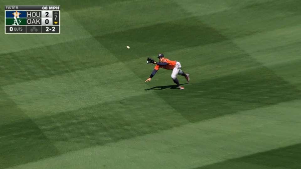 Springer dives to rob Crisp