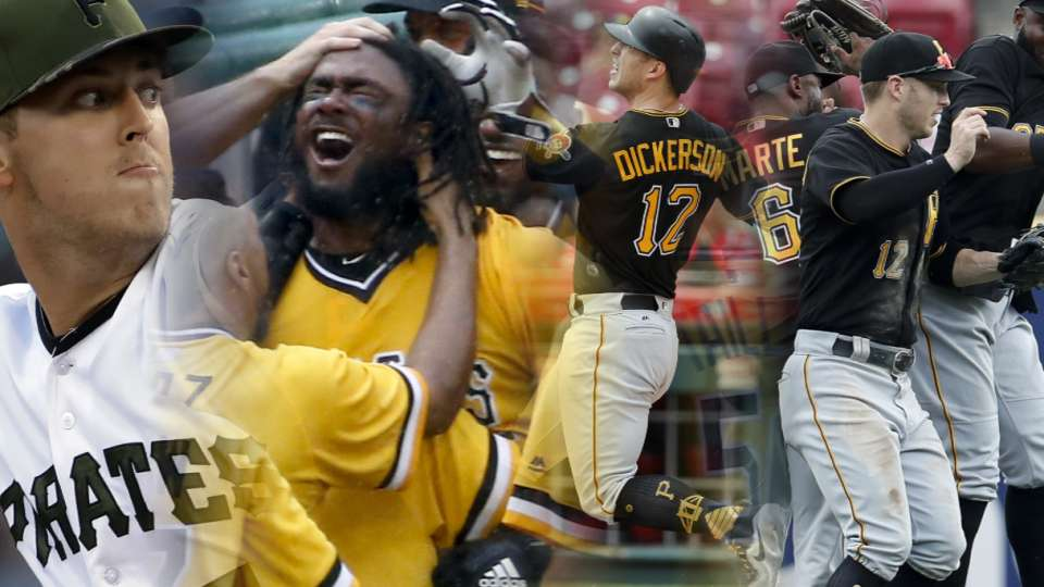 Pirates win 11th straight game