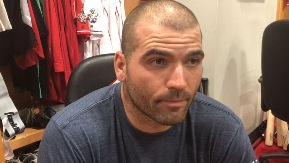 Votto on Players' Weekend name