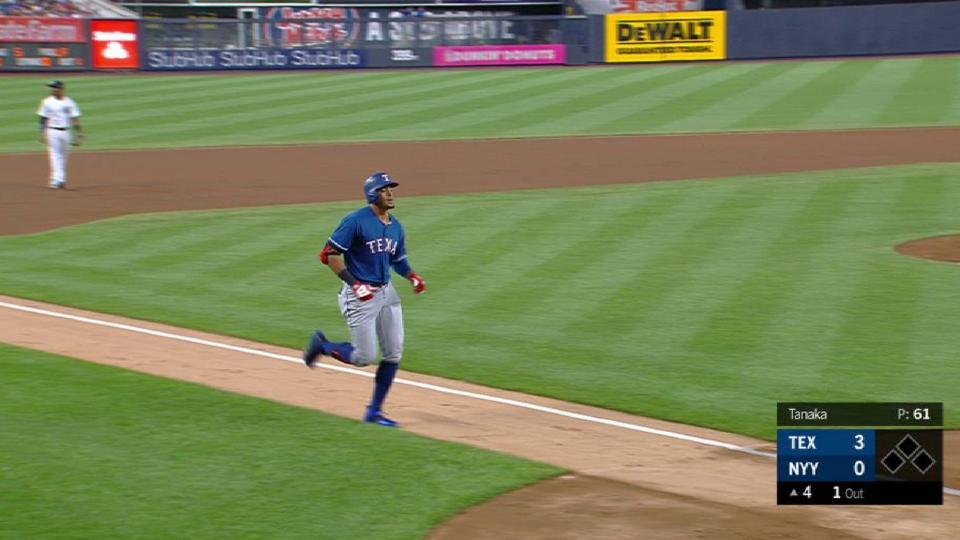 Guzman's solo home run
