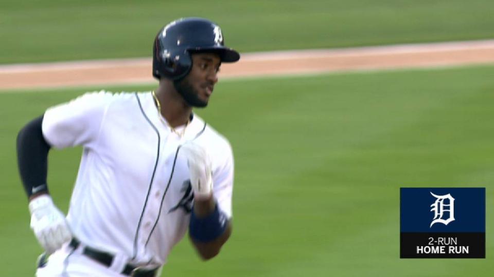 Goodrum's 2-run homer