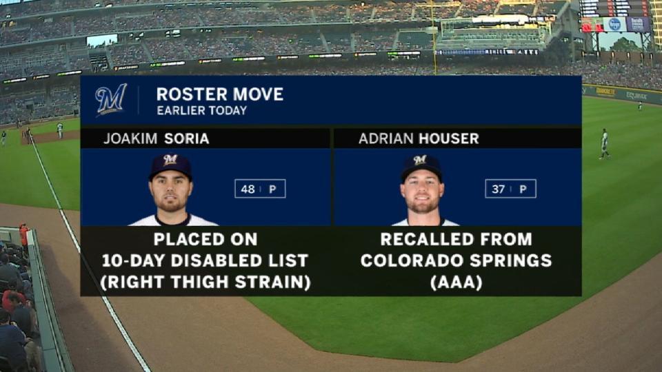 Soria's injury impact