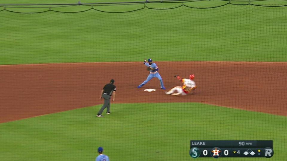 Leake escapes big jam with a DP