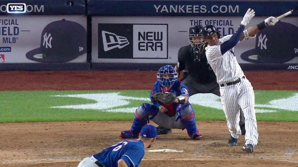 Andujar's RBI ground-rule double