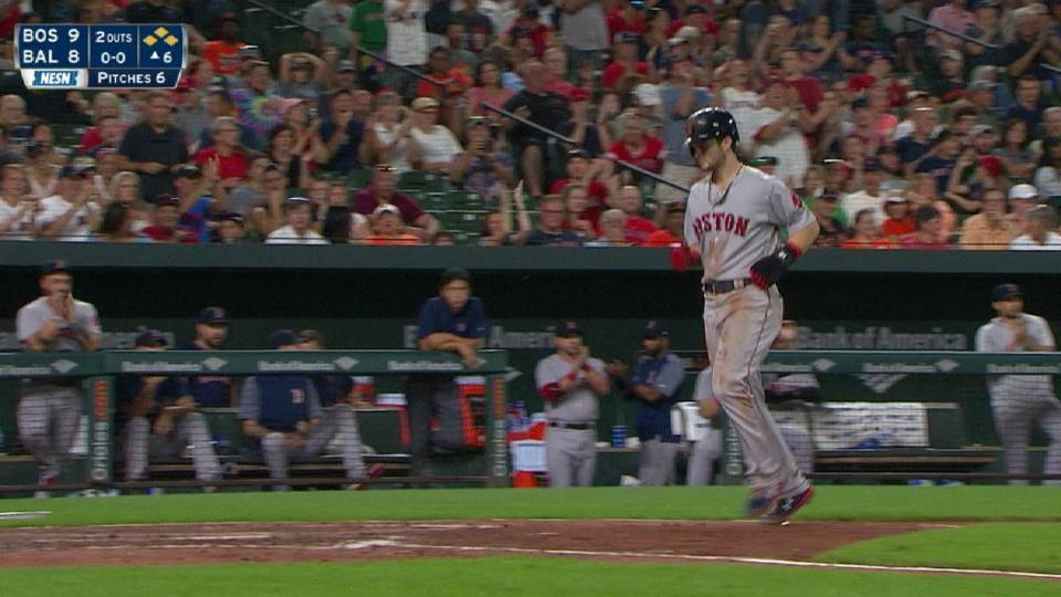Devers' go-ahead walk in 6th