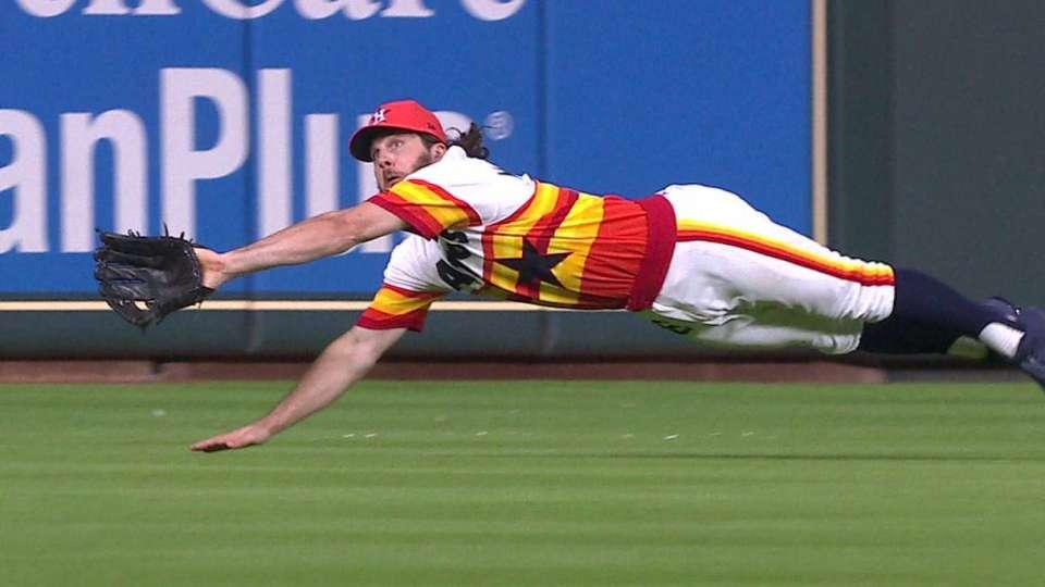 Marisnick's sensational catch