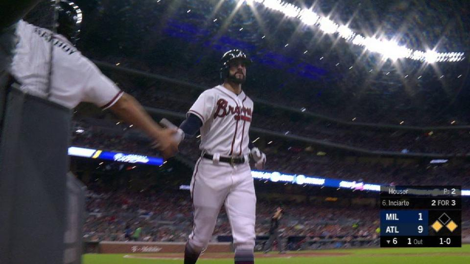Inciarte's 4th RBI of the game