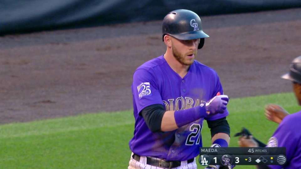 Story's RBI double extends lead