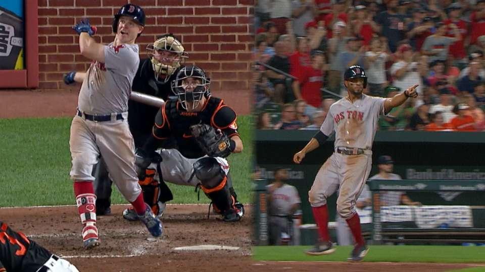 Holt jump-starts Sox's 6-run 6th