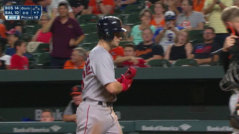Benintendi's 3-run home run