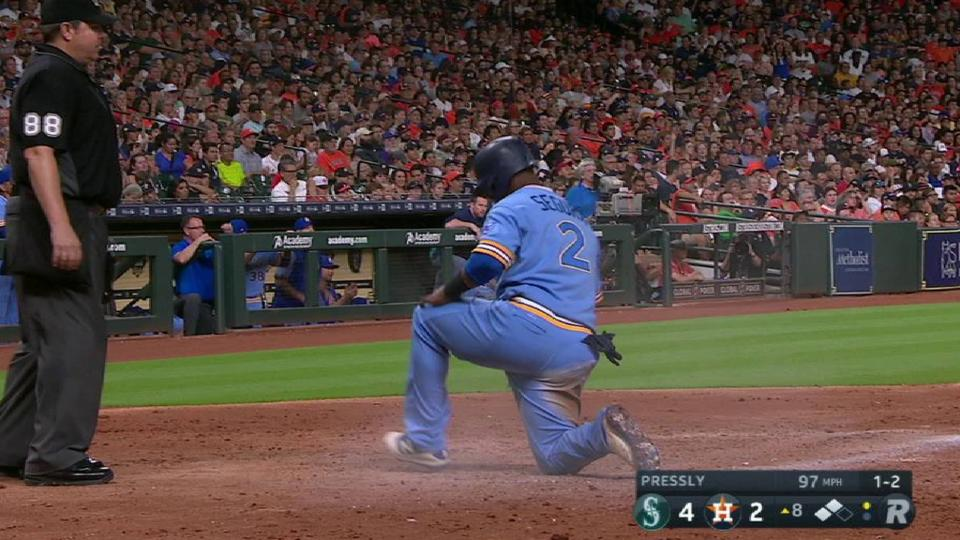 Seager's RBI groundout