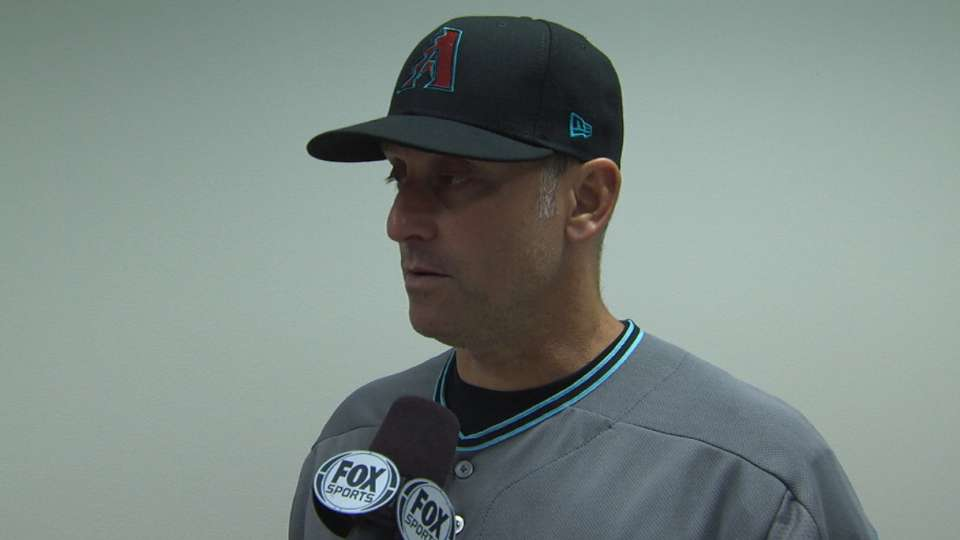 Lovullo on pitchers' duel, loss