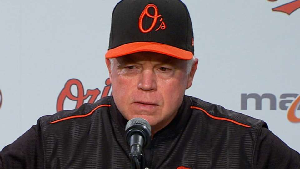 Showalter talks 19-12 loss