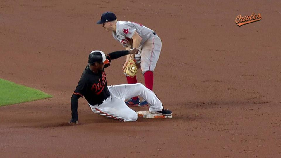 Jones notches 3rd steal of year