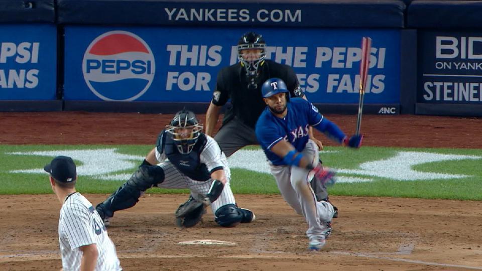 Andrus' huge 4-hit, 3-RBI game