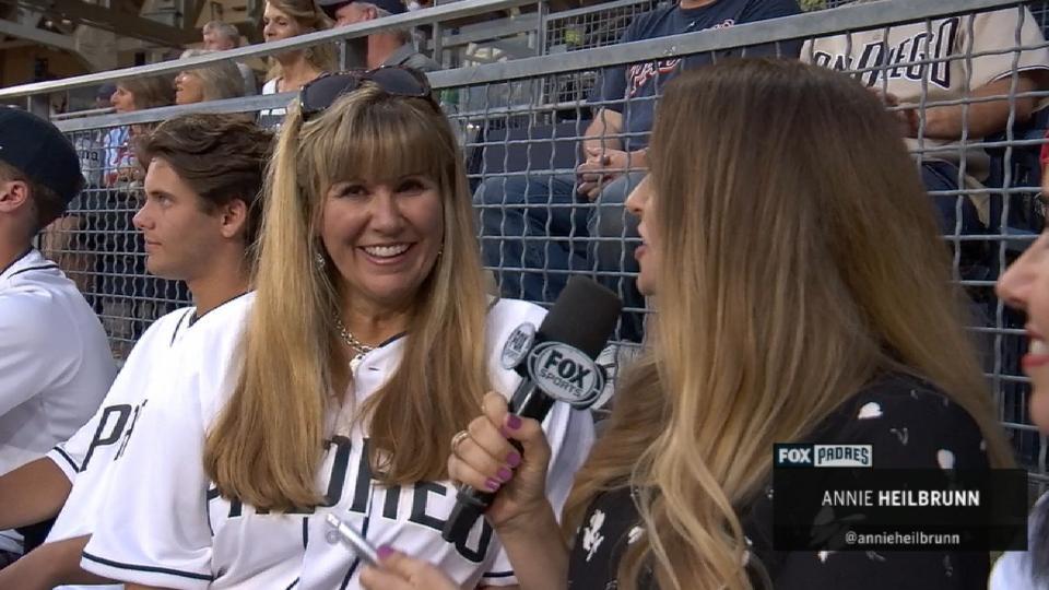 Nix's mom on his MLB debut