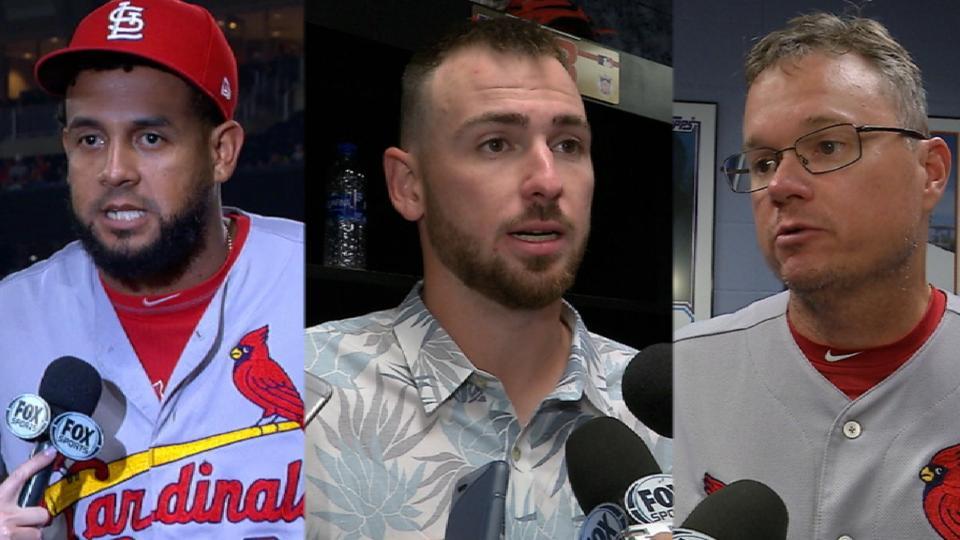 Cardinals discuss 7-0 win