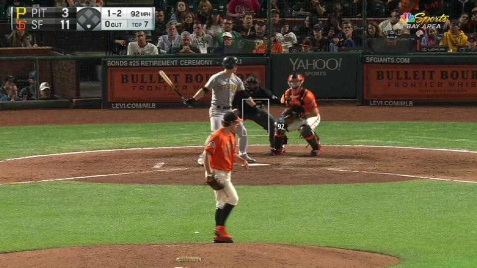 Holland strikes out Dickerson