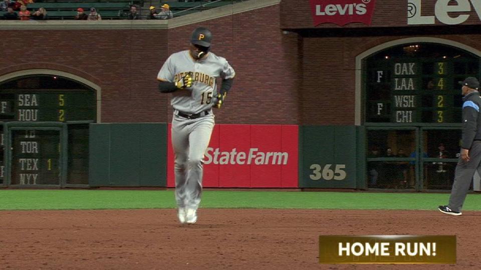 Hechavarria's solo home run