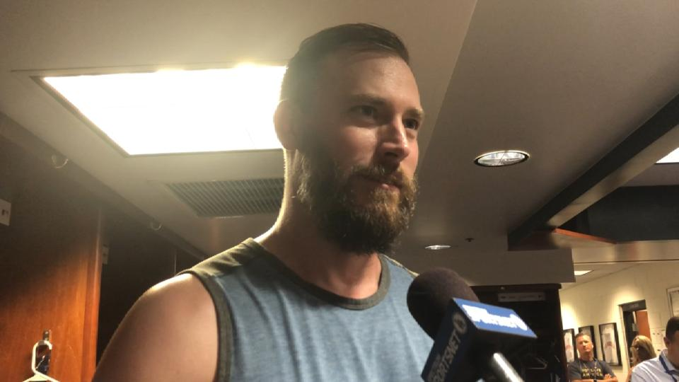 Axford on relief outing