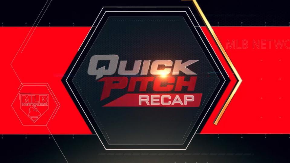 Quick Pitch Recap: 8/10/18