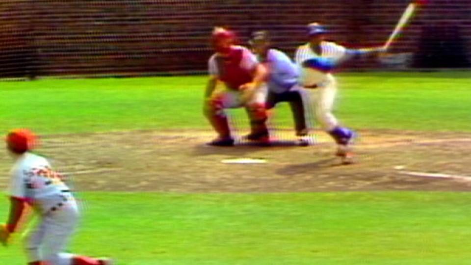 Ernie Banks' final home run