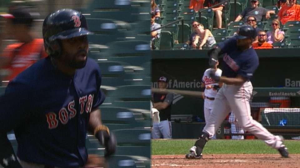 Bradley Jr.'s 2-home run game