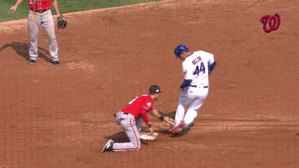 Wieters throws out Rizzo
