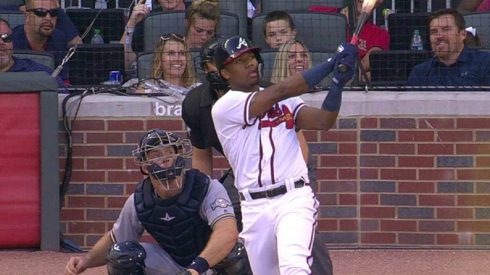 Acuna Jr.'s leadoff home run