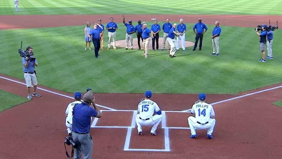 Royals honor '85 champs