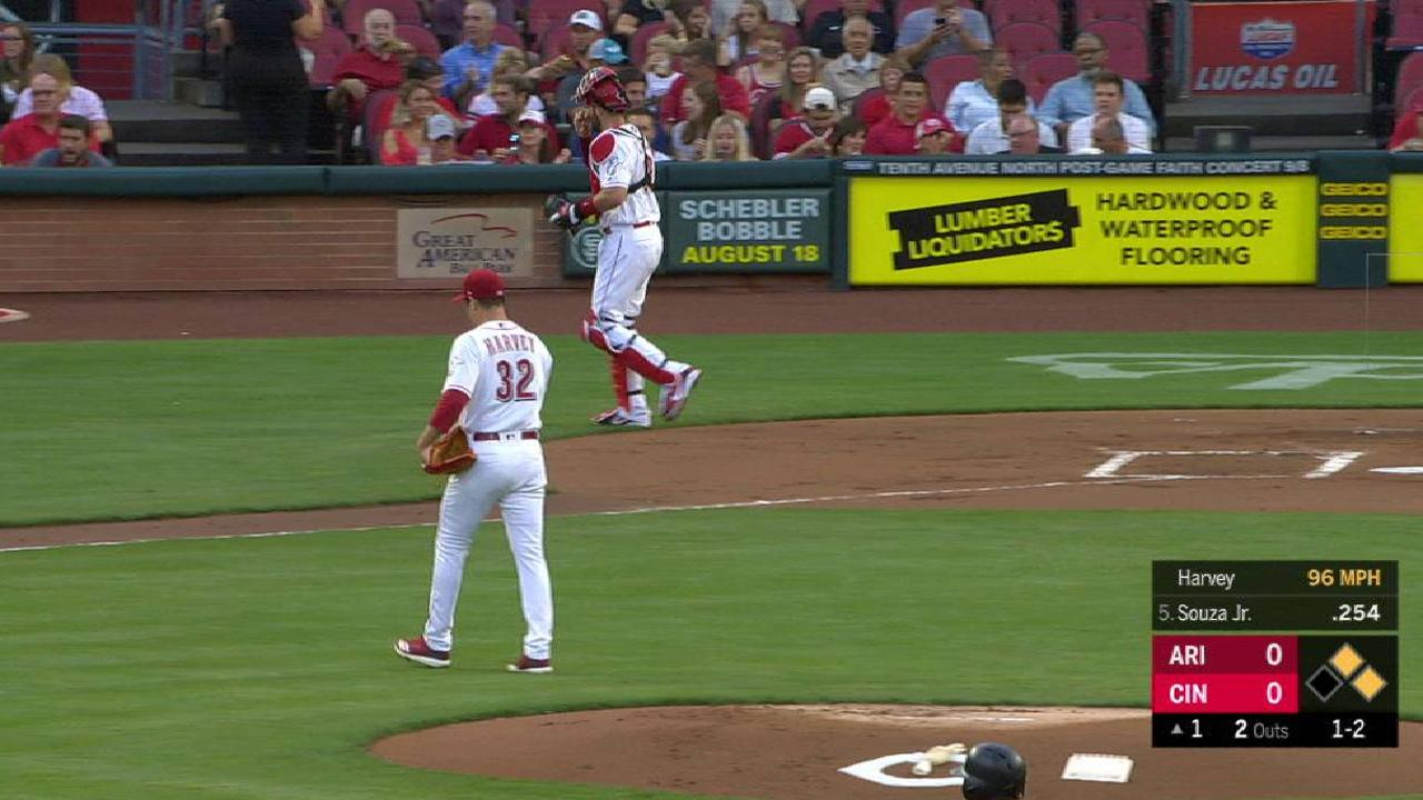 Matt Harvey does it all as Reds rally for win | New York Mets