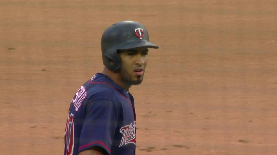 Rosario's RBI double to right