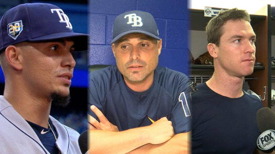 Rays on hitting, pitching, win