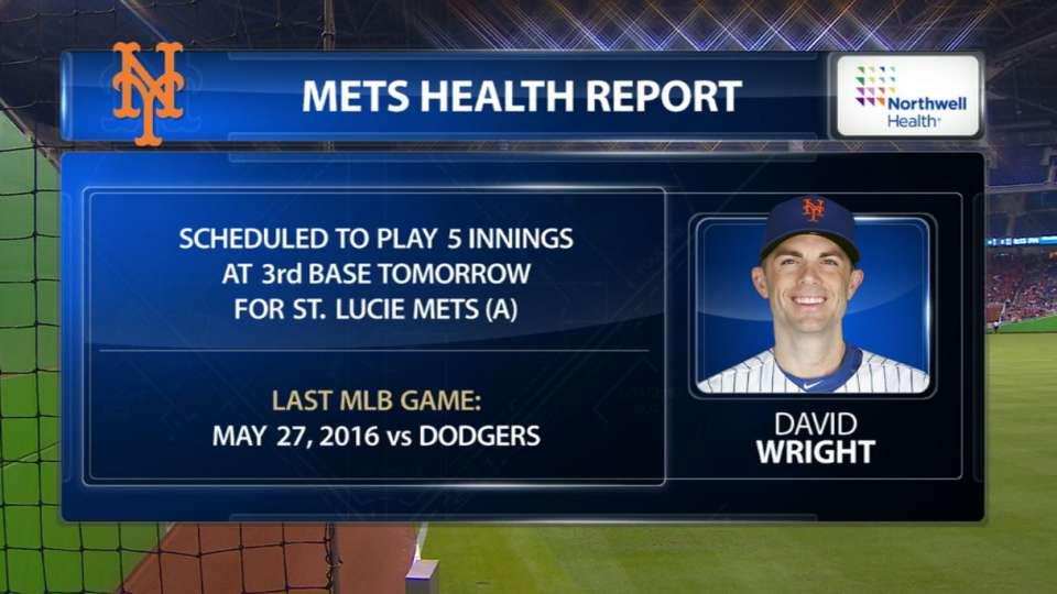 Wright to make rehab start