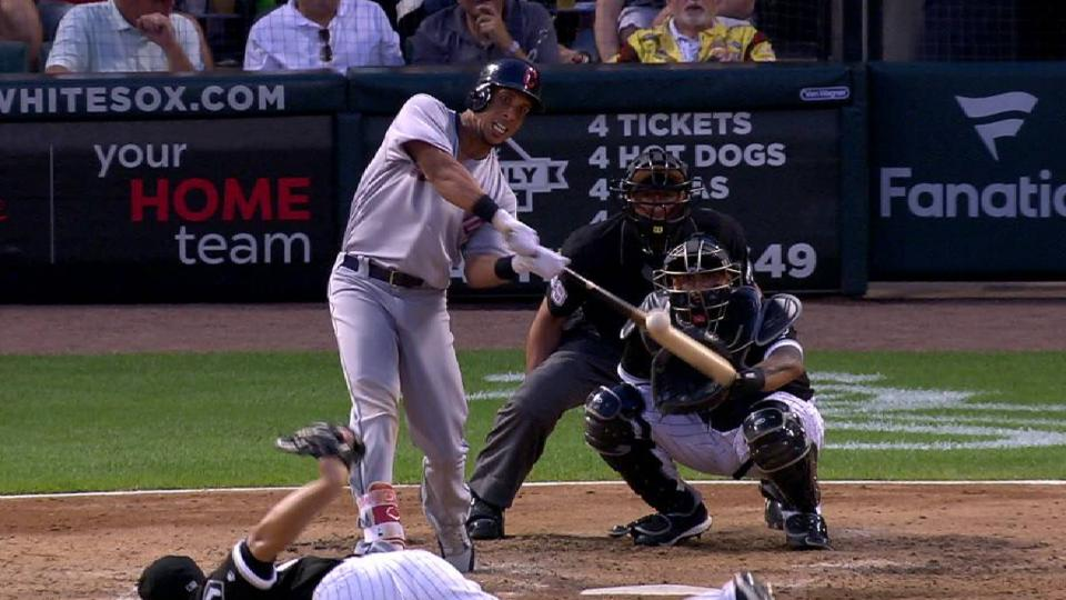 Brantley's solo home run