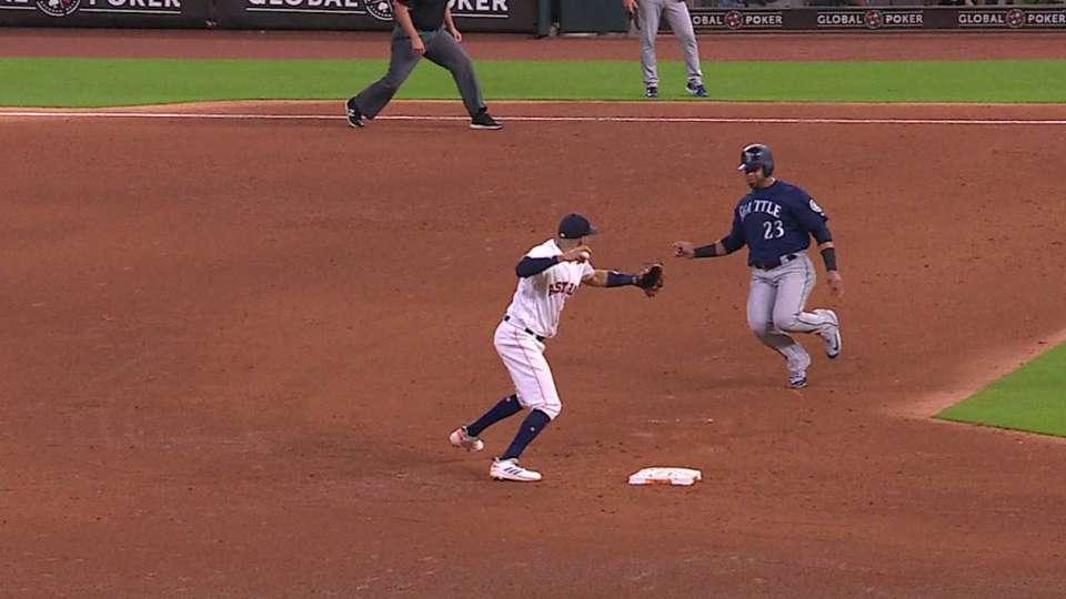Gurriel starts inning-ending DP