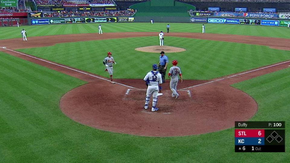Bader's 2-run home run