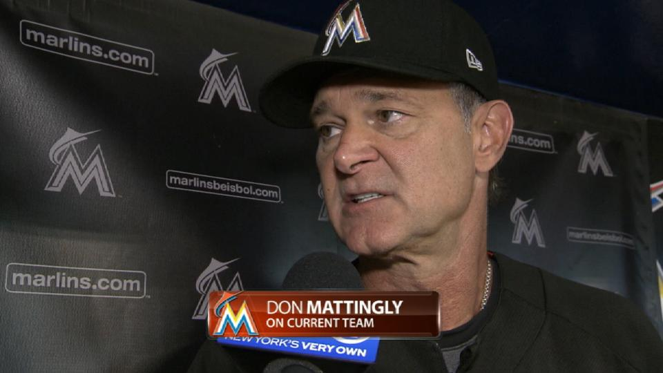 Mattingly on current team