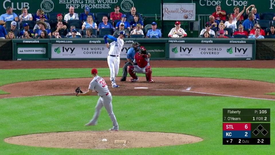 Flaherty collects 9th strikeout