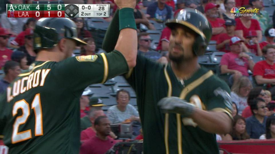 Semien's 3-run homer