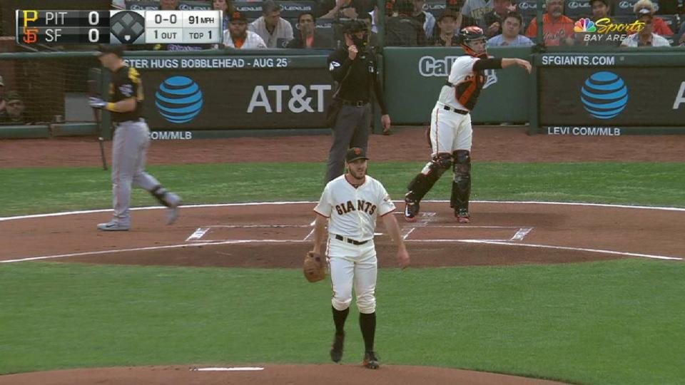 Blach strikes out Dickerson