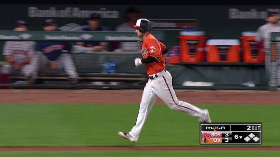 Rickard's solo home run to left