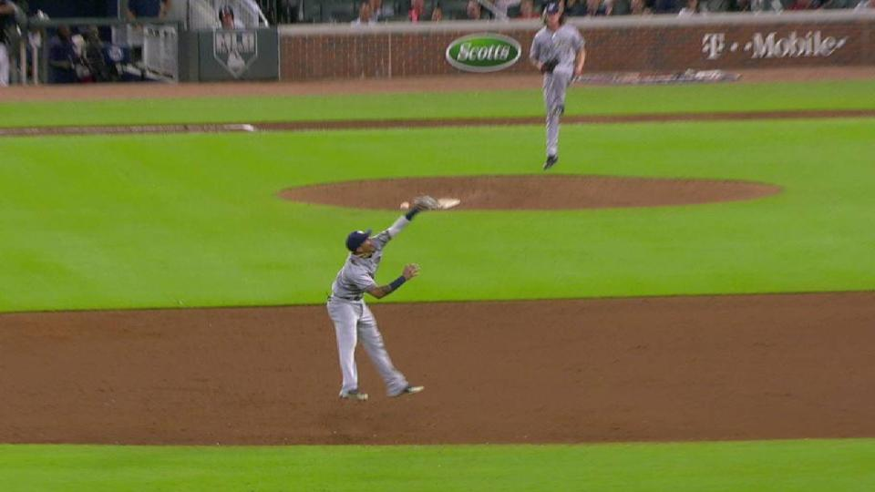 Arcia's solid jumping snag