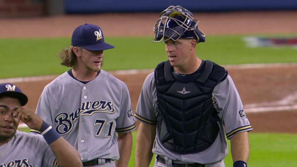 Hader completes 6-out save