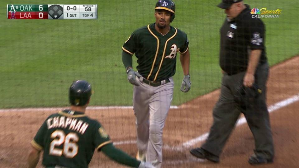 Semien's second home run