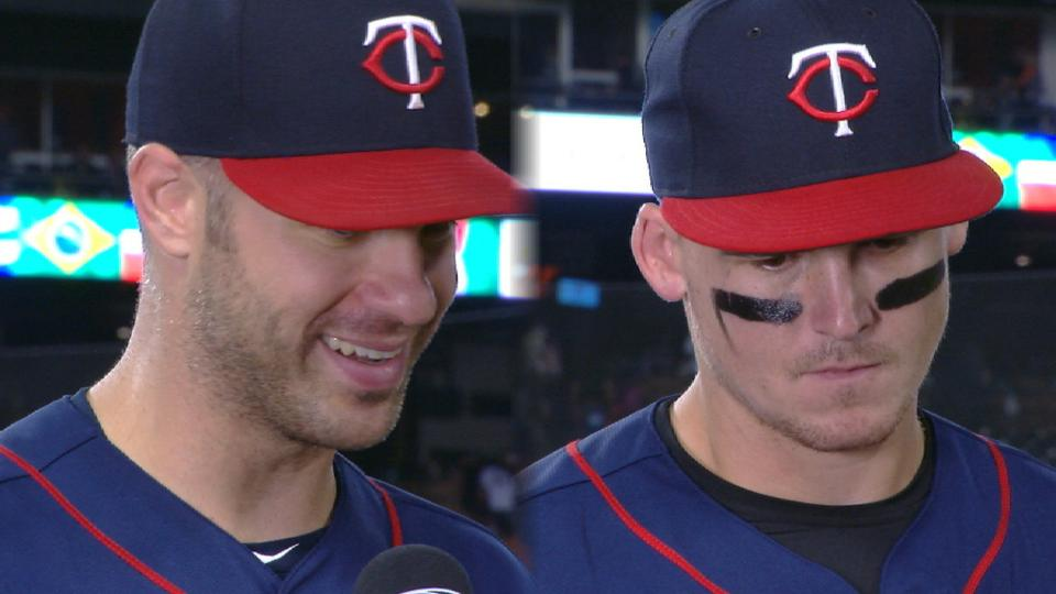Mauer, Austin on win over Tigers