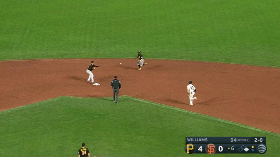 Harrison, Mercer turn a slick DP
