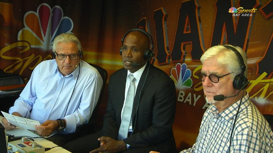Bonds joins the Pirates' booth