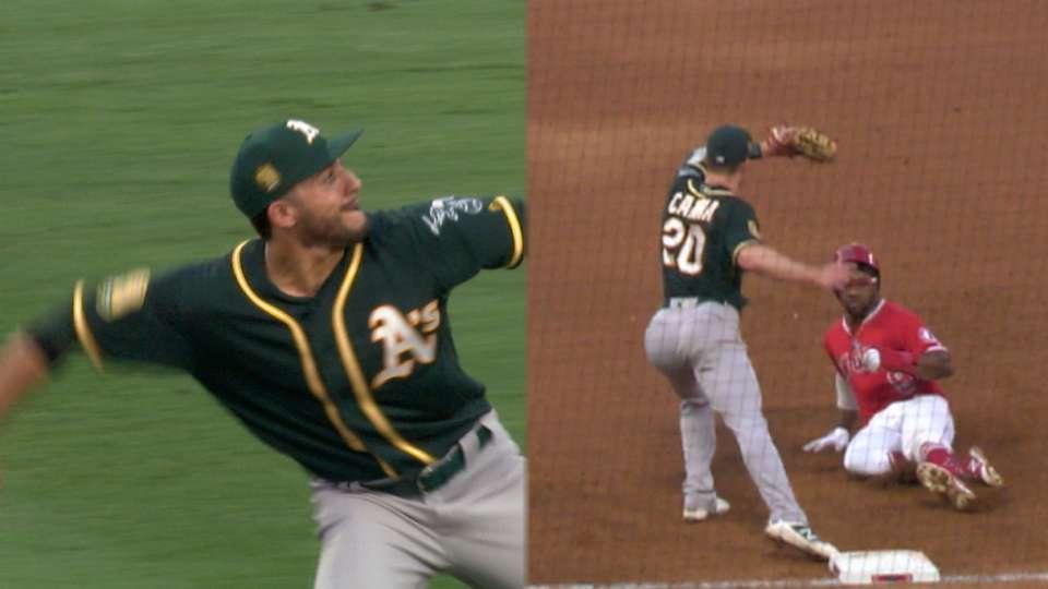 Must C: Laureano's 321-ft. throw