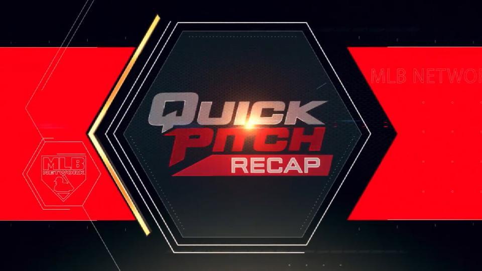 Quick Pitch Recap: 8/11/18